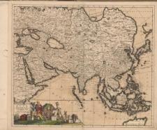 Exactissima Asiae delineatio in praecipuas regiones caeterasq[ue] partes divisa et denuo in lucem edita per I. Danckerts