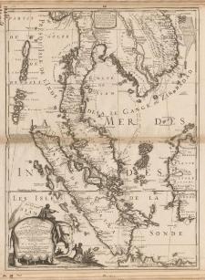 Royaume de Siam avec les royaumes qui luy sont tributaires, et les Isles de Sumatra, Andemaon etc. [...]