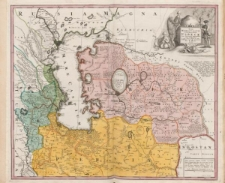 Nova Maris Caspii et regionis Usbeck cum provincijs adjacentibus vera delineatio in qua itinera regia et alia notabiliora accurate denotantur per A. Maas
