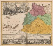 Statuum Maroccanorum, Regnorum nempe Fessani, Maroccani, Tafiletani et Segelomessani secundum suas Provincias accurate divisorum, Typus generalis novus [...]