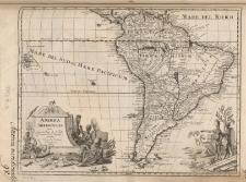 America Meridionalis studio Guilielmi de l'Isle [...]