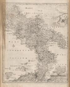 Typus Regni Neapolitani in suas provincias diligenter divisi per Christoph. Weigelium