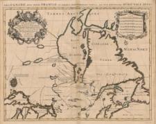 Le Canada ou partie de la Nouvelle France dans l'Amerique Septentrionale contenant la terre de Labrador, la Nouvelle France, les Isles de Terre Neuve, de Nostre Dame, etc. a l'Usage de Monseigneur le Duc de Bourgogne