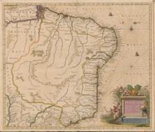 Nova et accurata Brasiliae totius tabula. Auctore Ioanne Blaev I.F.