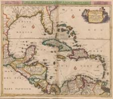 Insulae Americanae nempe: Cuba, Hispaniola, Iamaica, Pto. Rico, Lucania, Antillae vulgo Caribae, Barlo-Et Sotto-Vento etc.