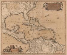 Insulae Americanae in Oceano Septentrionali ac Regiones adiacentes a C. de May usque ad Lineam Aequinoctialem
