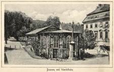 Brunnen und Wandelbahn