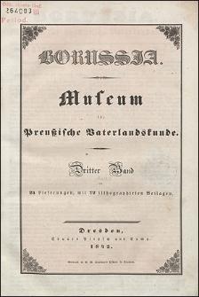 Borussia. Museum für Preußische Vaterlandskunde Bd. 3 (1842), Lief. 1
