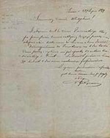 [List Władysława Gubrynowicza do Władysława Anczyca, Lwów 28 lipca 1879].