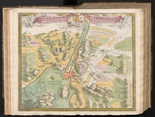 Plan Der Belagerung Von Fridrichshall angefangen von Carl dem XII [...] der Schweden [...] König [...] aufgehoben den 12 Dec. 1718 [...]