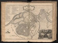 Grundriss der Festung Statt und Situation St. Petersburg