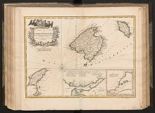 Carte des Isles de Maiorque, Minorque et Yvice