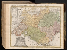 Præfectura Generalis & Comitatus Provinciæ una cum Terris adiacentibus in suas Dioeceses & Præturas subdivisus