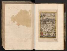 Kriegs und Reise Charte von Provence zur Erleuchterung der einkommenden nachrichten der Armeen mit dem Prospect von Aix. Ville Capitale du Comte de Provence, Siege dun Archeveche, et Dun Parlement