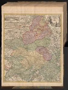 Tabvla Geographica Campaniæ specialis in suas sic dictas Electiones accurate distincta