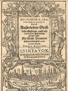 Melpomene sacra, Festis fidelium nuncupata [...] Quinta vox